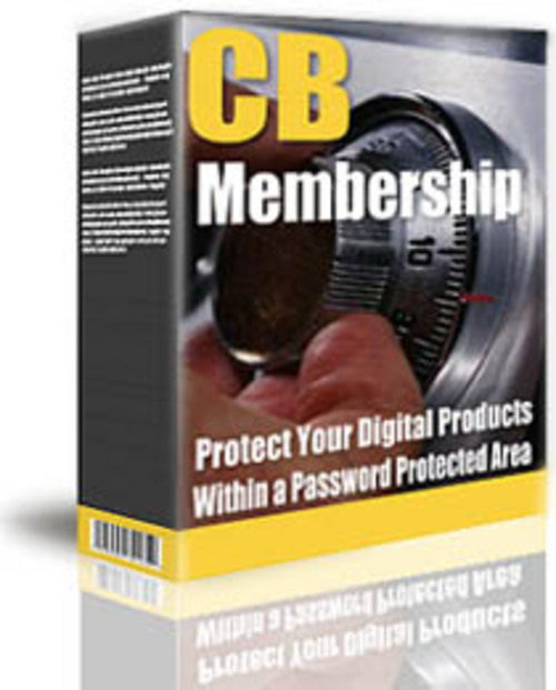 Product picture Cb Membership Protect Your Digital Products Within A Passwor
