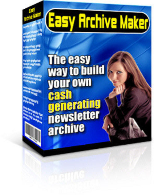 Product picture *NEW* Easy Archive Maker - Master Resale Rights