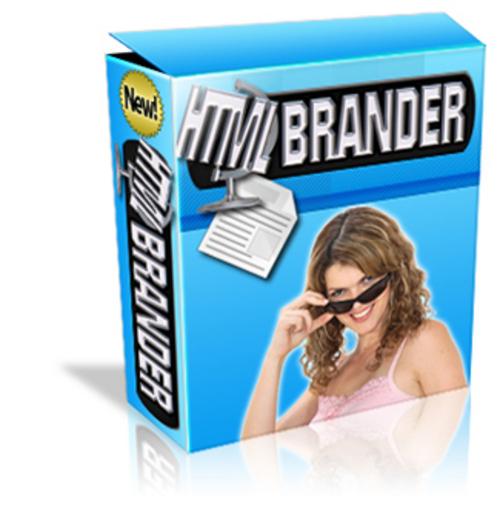 Product picture Html Software Brander - Derechos Master de Reventa Incluidos