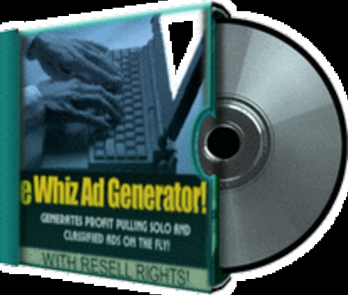 Product picture Software to make more money *eWhiz Ad Creator* With Resell R
