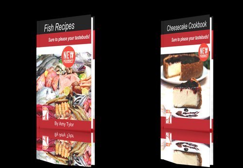 Product picture **NEW!**Two cookbooks-Chicken Recipes+Fish Recipes.