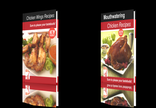 Product picture **NEW!**Two cookbooks-Chicken Recipes+Chicken Wings Recipes.