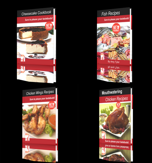 Product picture **NEW** Fresh Recipes Four Books