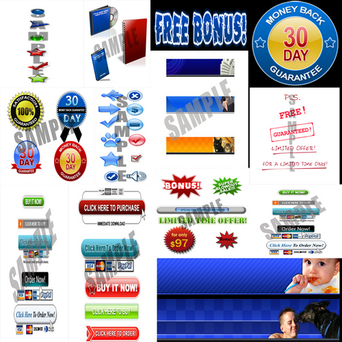 Product picture NEW*Graphics Pack*MRR/images for the web/web design designer